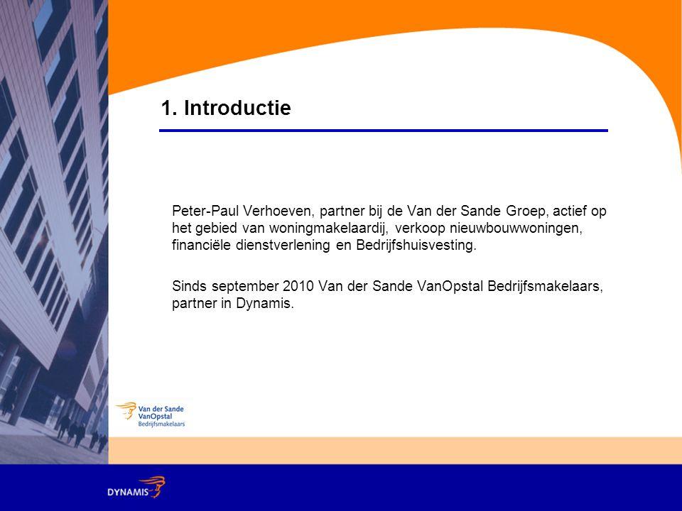 Peter-Paul Verhoeven, partner bij de Van der Sande Groep, actief op het gebied van woningmakelaardij, verkoop nieuwbouwwoningen, financiële dienstverlening en Bedrijfshuisvesting.
