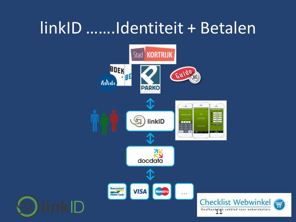 11 linkID …….Identiteit + Betalen