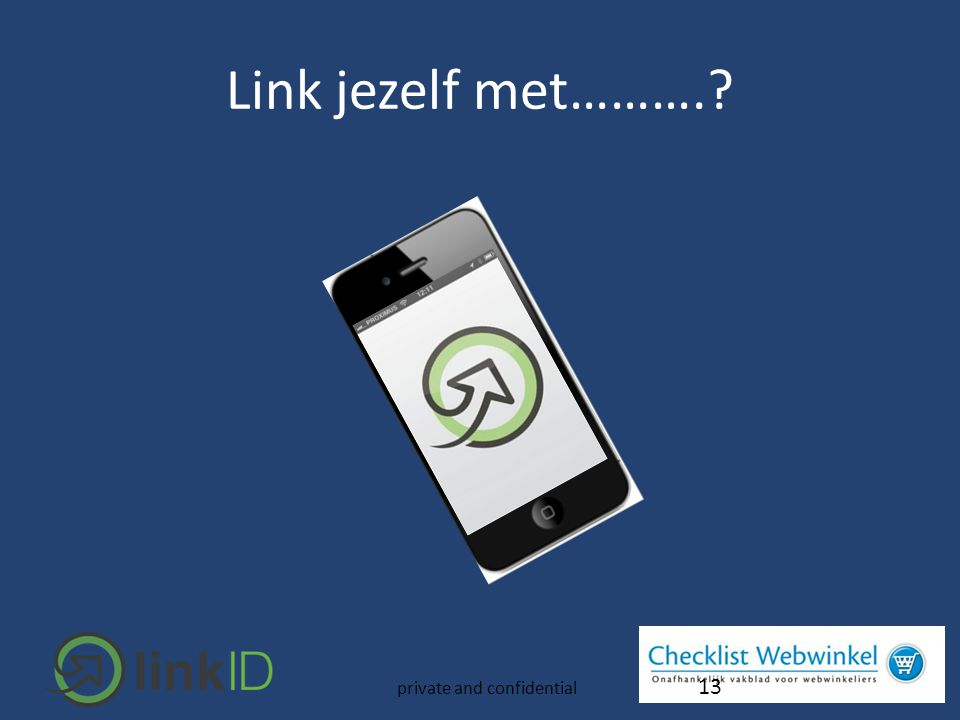 13 private and confidential Link jezelf met……….?