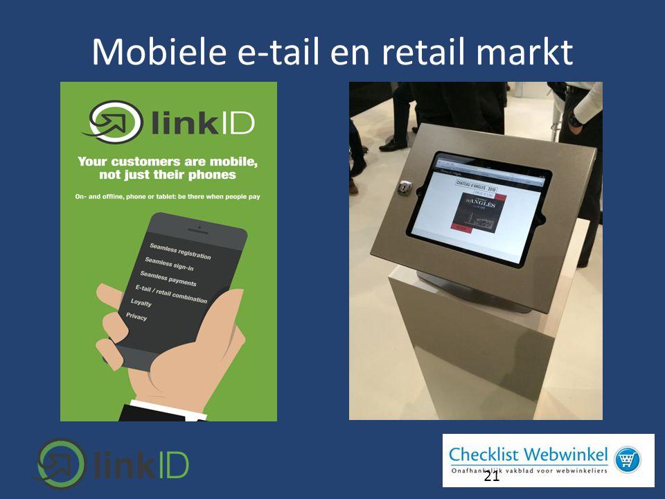 21 Mobiele e-tail en retail markt