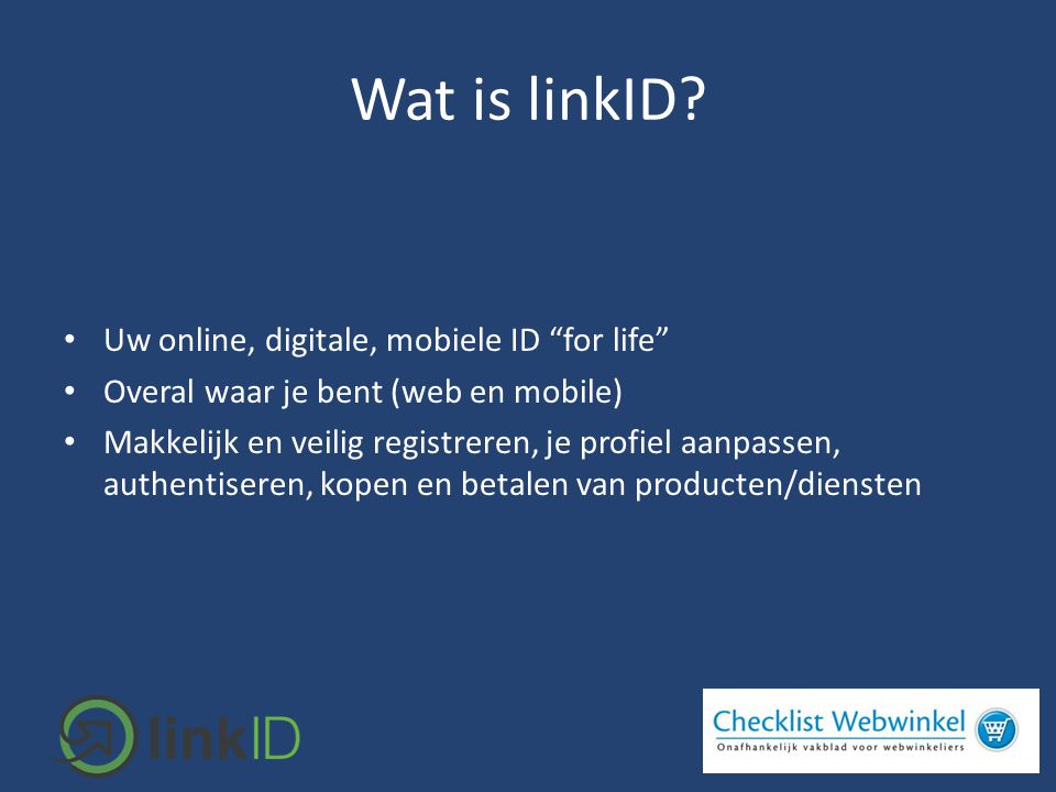 Wat is linkID.