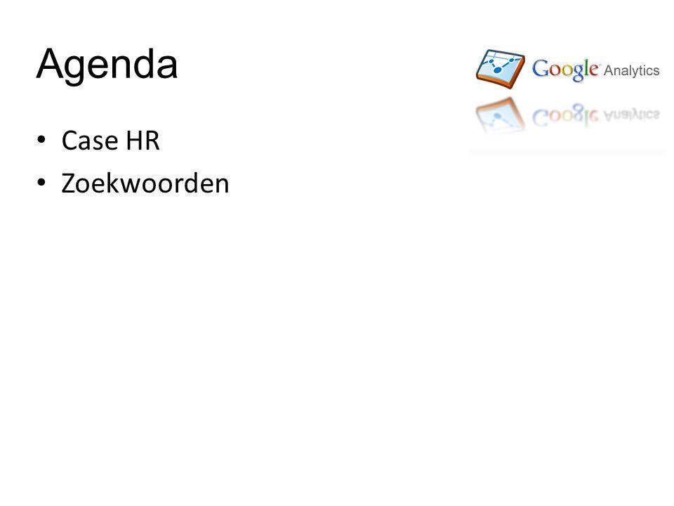 Agenda • Case HR • Zoekwoorden
