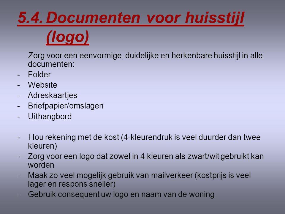 5.3. Documenten voor nazorg Volgende documenten kunnen dienen als nazorg: -vakantiefoto -kerstkaart -verjaardagskaart -e-mailing/nieuwsbrief -brief me