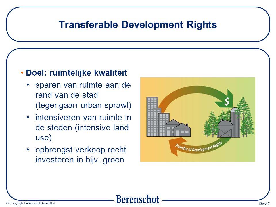 © Copyright Berenschot Groep B.V.Sheet 8 Hoe zou het kunnen werken in Nederland.