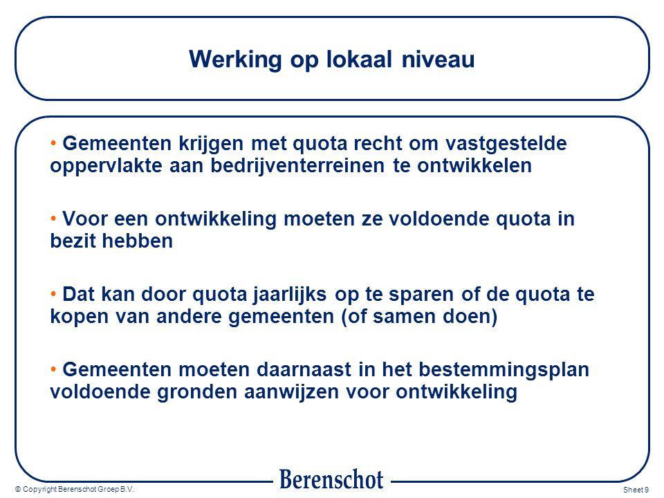 © Copyright Berenschot Groep B.V.
