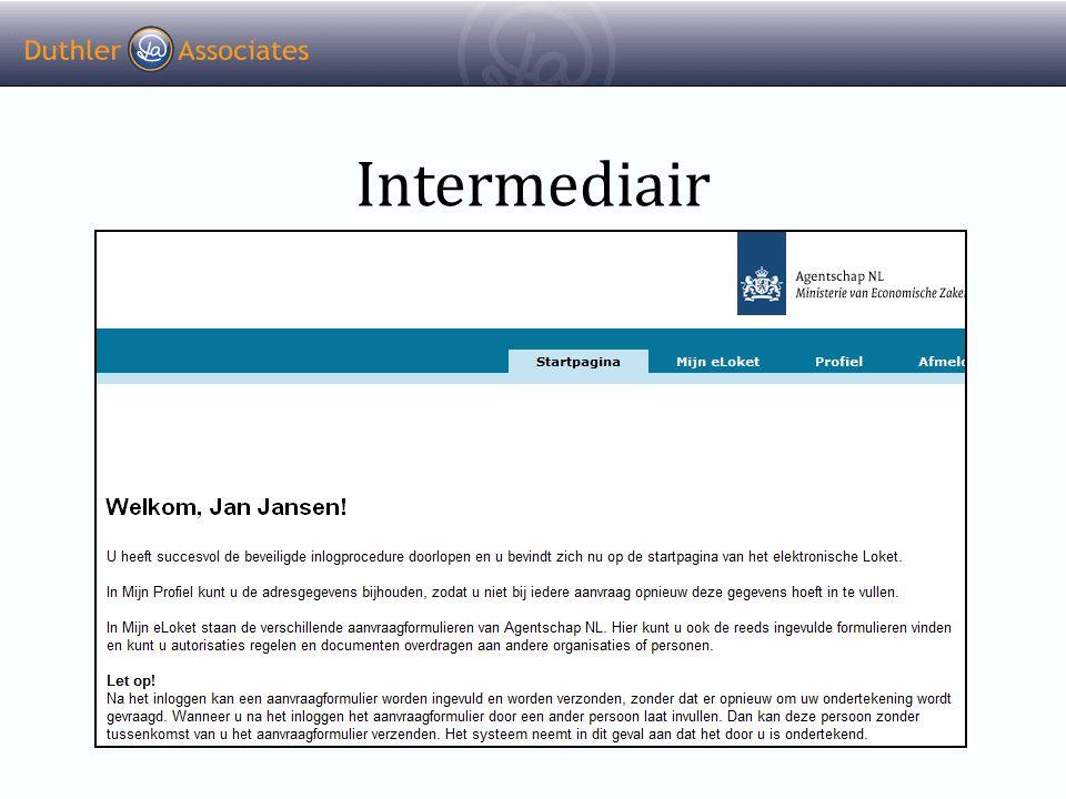 Intermediair