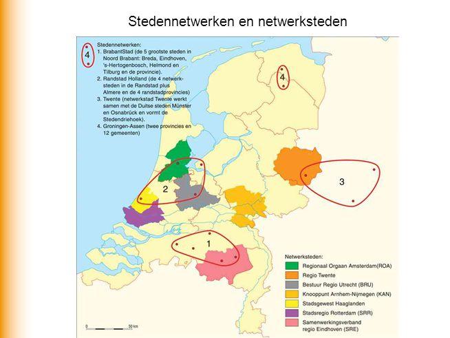 Stedennetwerken en netwerksteden