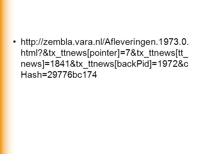 •http://zembla.vara.nl/Afleveringen.1973.0. html?&tx_ttnews[pointer]=7&tx_ttnews[tt_ news]=1841&tx_ttnews[backPid]=1972&c Hash=29776bc174