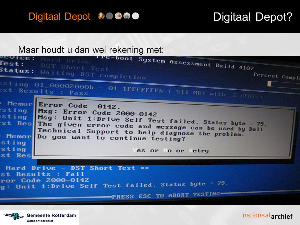 Digitaal Depot Nationaal Archief en Gemeentearchief Rotterdam hebben samen een digitaal depot ontwikkeld.