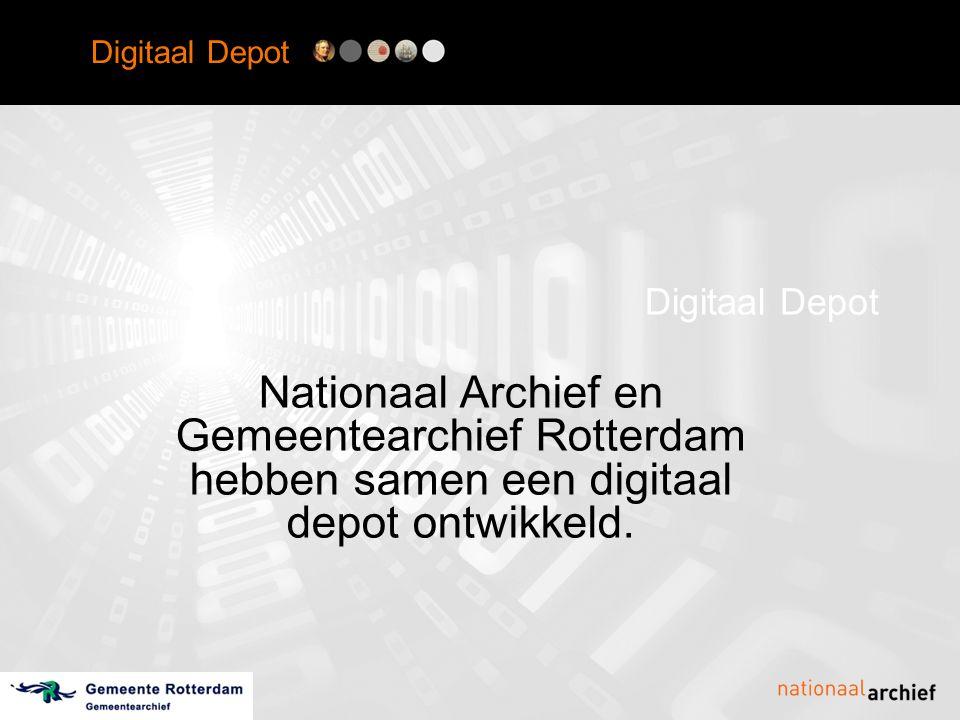 Digitaal Depot Preservation Planning Preservation planning: •onderzoek naar preservation strategieën •evaluatie preservation tools •vergelijking preservation strategieën