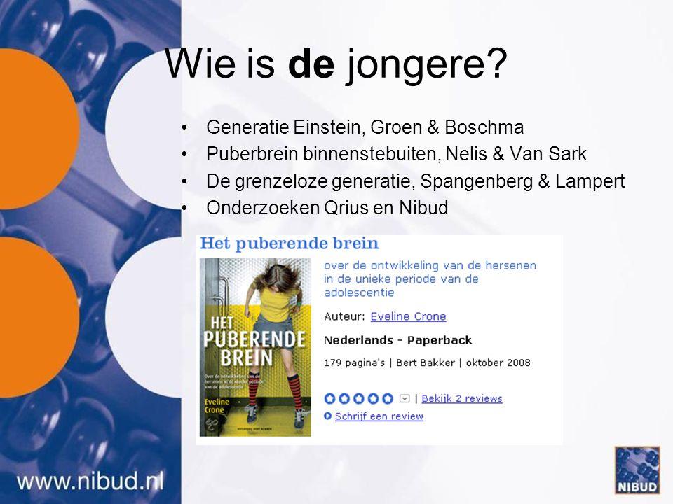Influentials: betrouwbare 'autoriteit' www.nibud.nl www.nibudjong.nl