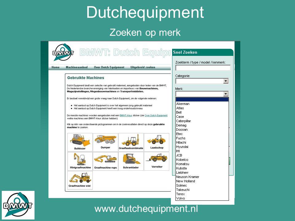 Zoeken op merk www.dutchequipment.nl Dutchequipment