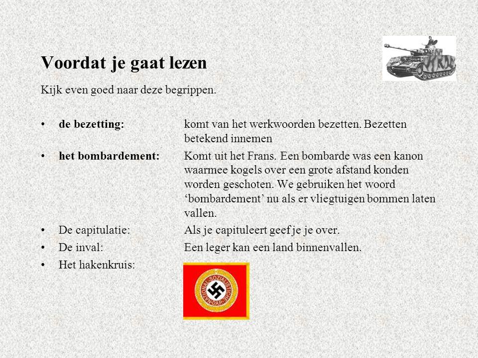 In deze les ga je leren….… dat Rotterdam wordt gebombardeerd door Duitse vliegtuigen.