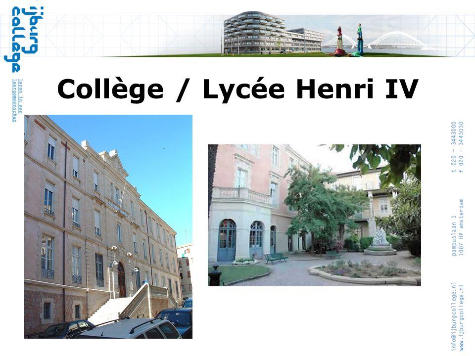 Collège / Lycée Henri IV