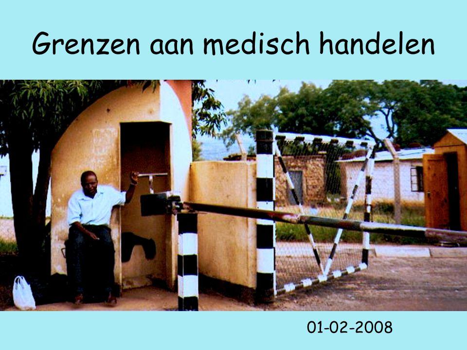 Grenzen aan medisch handelen 01-02-2008