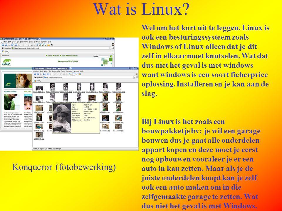 Linux Is Open Source.Open source wat is dat voor een beest.