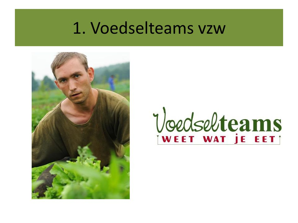 Wie is Voedselteams .