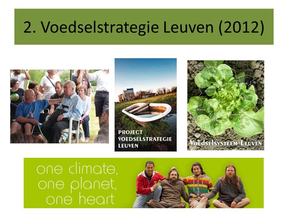 2. Voedselstrategie Leuven (2012)