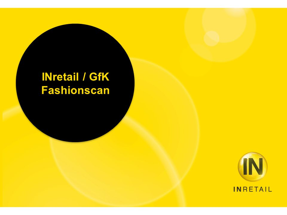 INretail / GfK Fashionscan