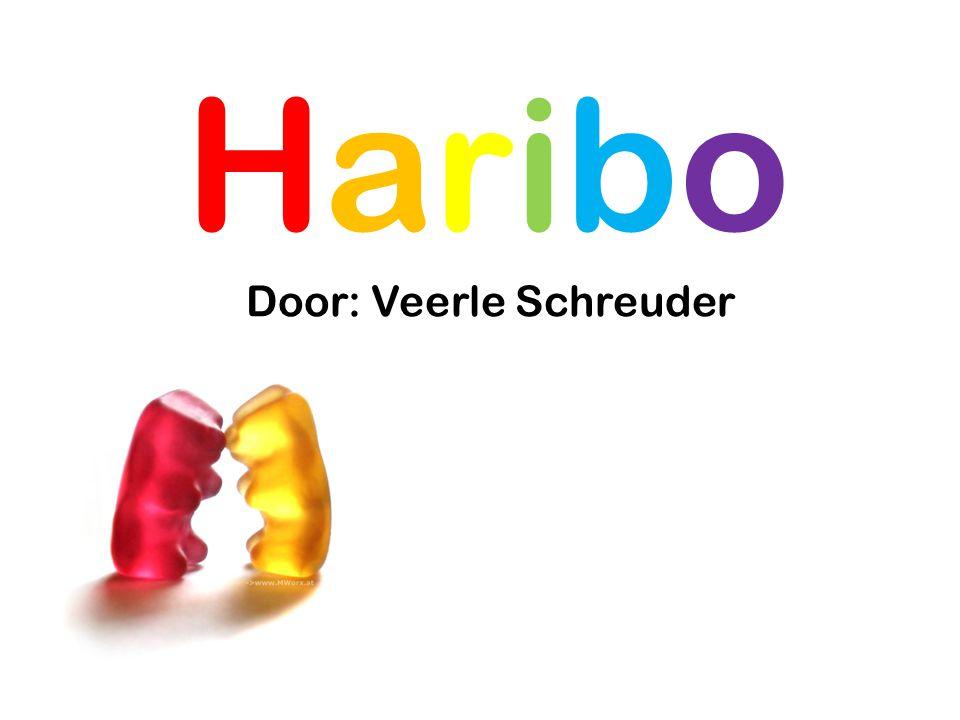 Haribo Door: Veerle Schreuder