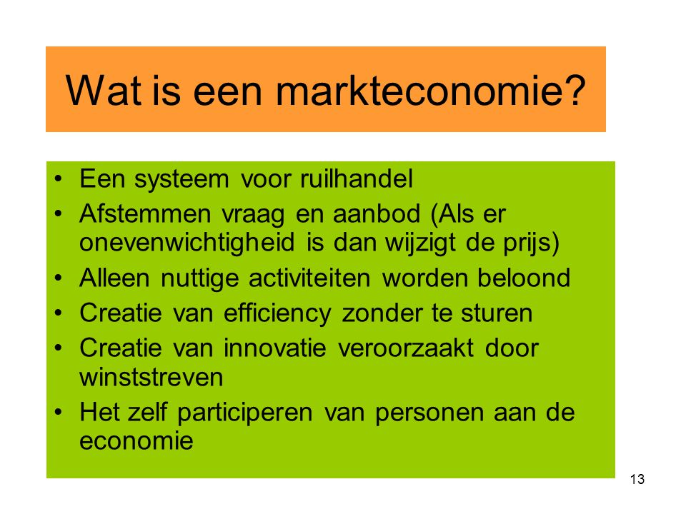 12 Falen markteconomie Tragedy of commons phase Iphase II Welvaart