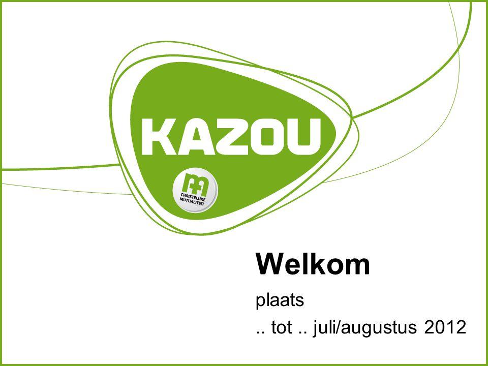 Welkom plaats.. tot.. juli/augustus 2012
