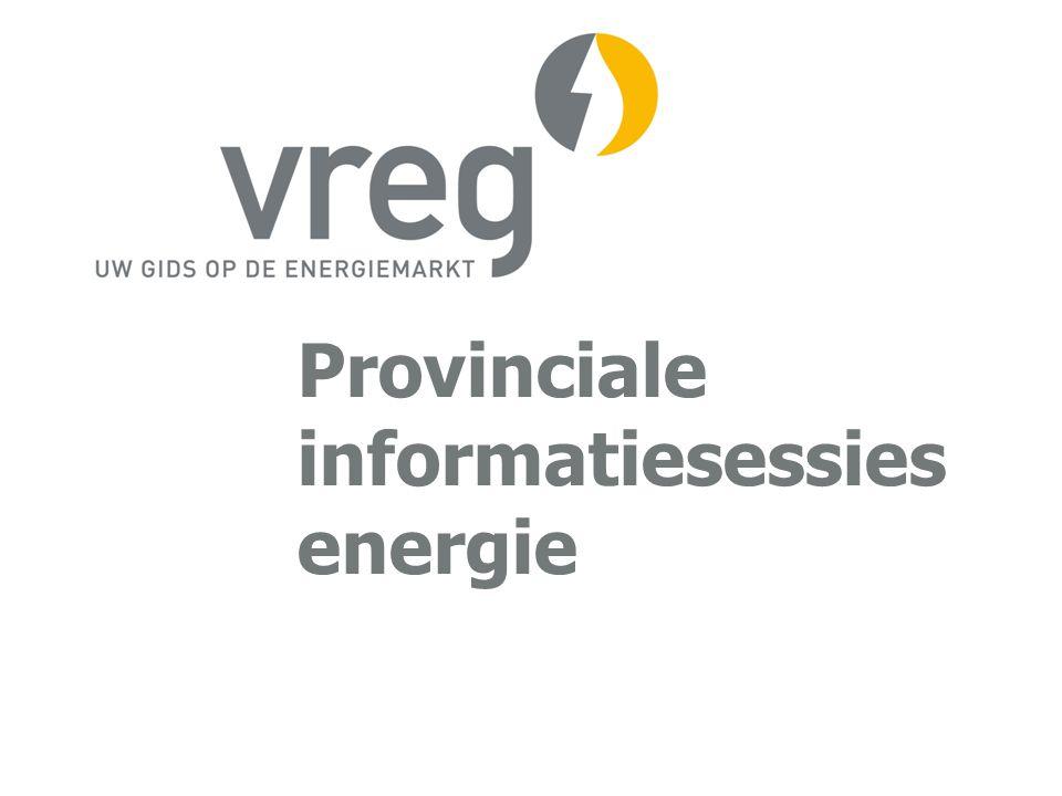 Provinciale informatiesessies energie