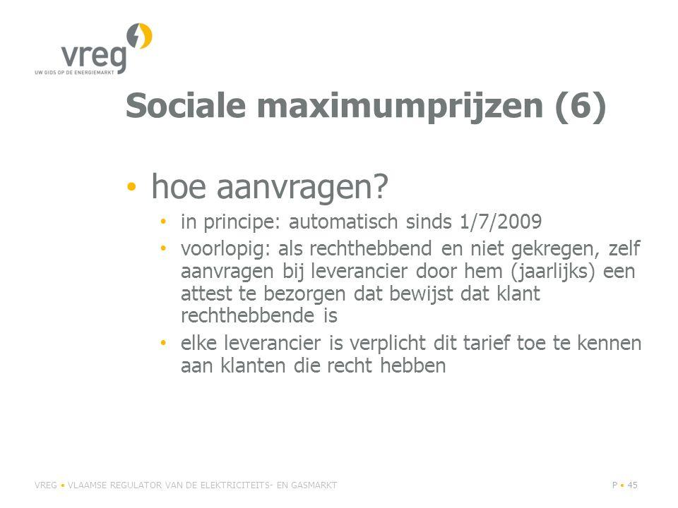 Sociale maximumprijzen (6) • hoe aanvragen.