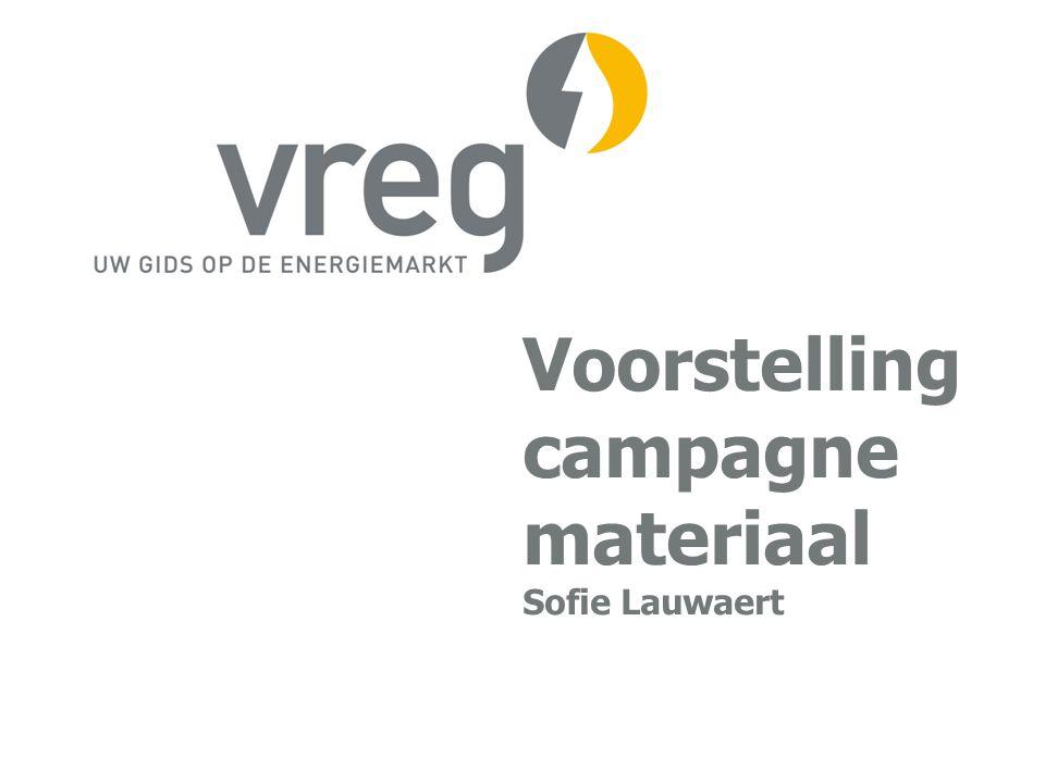 Voorstelling campagne materiaal Sofie Lauwaert