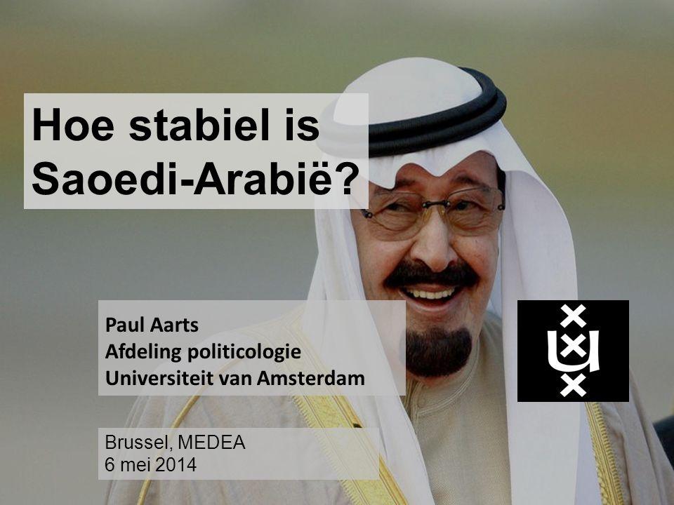 Hoe stabiel is Saoedi-Arabië.