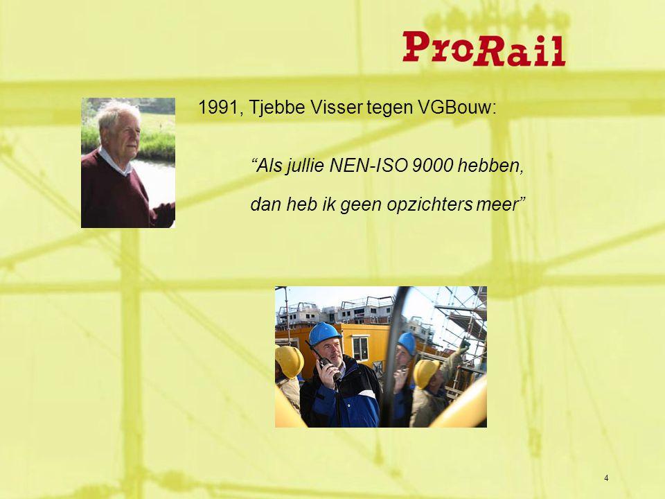 4 1991, Tjebbe Visser tegen VGBouw: Als jullie NEN-ISO 9000 hebben, dan heb ik geen opzichters meer