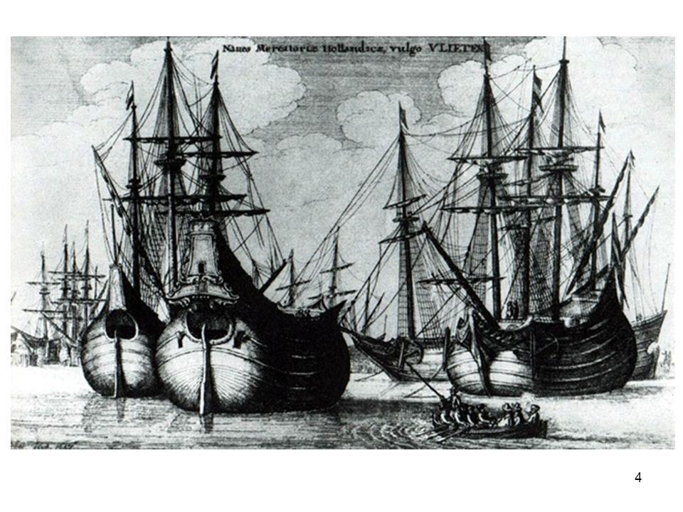 •Na 1621 problemen –Hervatting oorlog met Spanje –Sterke groei Vlaamse kapersvloot –Verhoging verzekeringspremies –Dertigjarige oorlog •Zorgt weer voor toenemende vraag uit Dtsl (landbouwproducten en textiel) •1648 Vrede van Munster 15