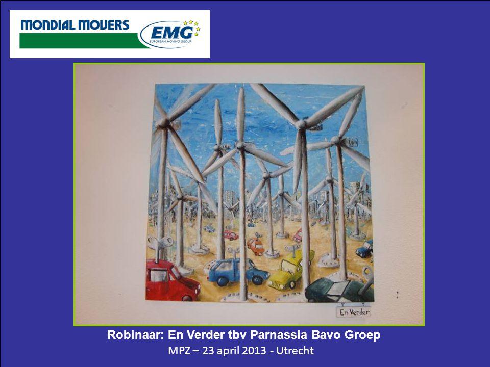 MPZ – 23 april 2013 - Utrecht Robinaar: En Verder tbv Parnassia Bavo Groep