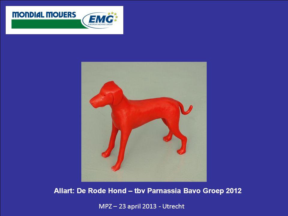 MPZ – 23 april 2013 - Utrecht Allart: De Rode Hond – tbv Parnassia Bavo Groep 2012