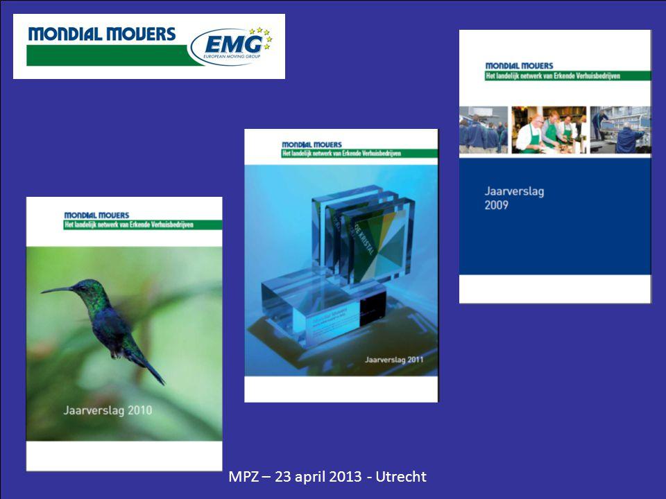 MPZ – 23 april 2013 - Utrecht Waarschuwing Verschiet niet al je kruit ineens.