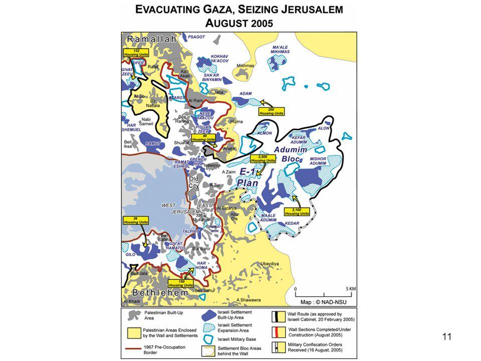 DE ISRAËLISCHE NEDERZETTINGEN ZIJN ILLEGAAL Israëls nederzettingenbeleid is illegaal en vormt een ernstige schending van het internationaal recht.