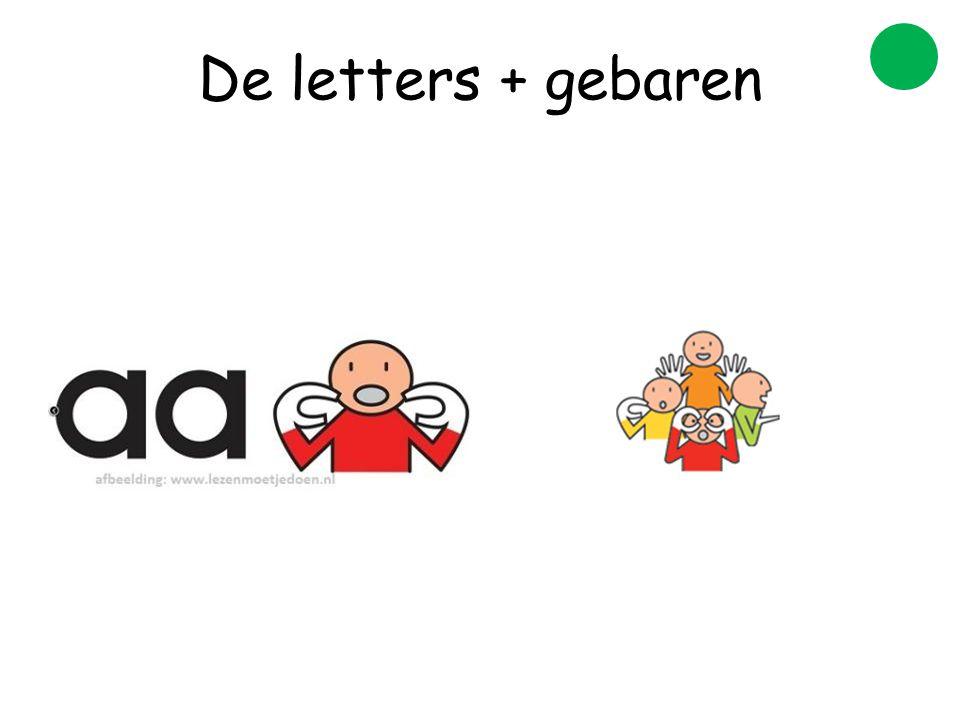 De letters + gebaren