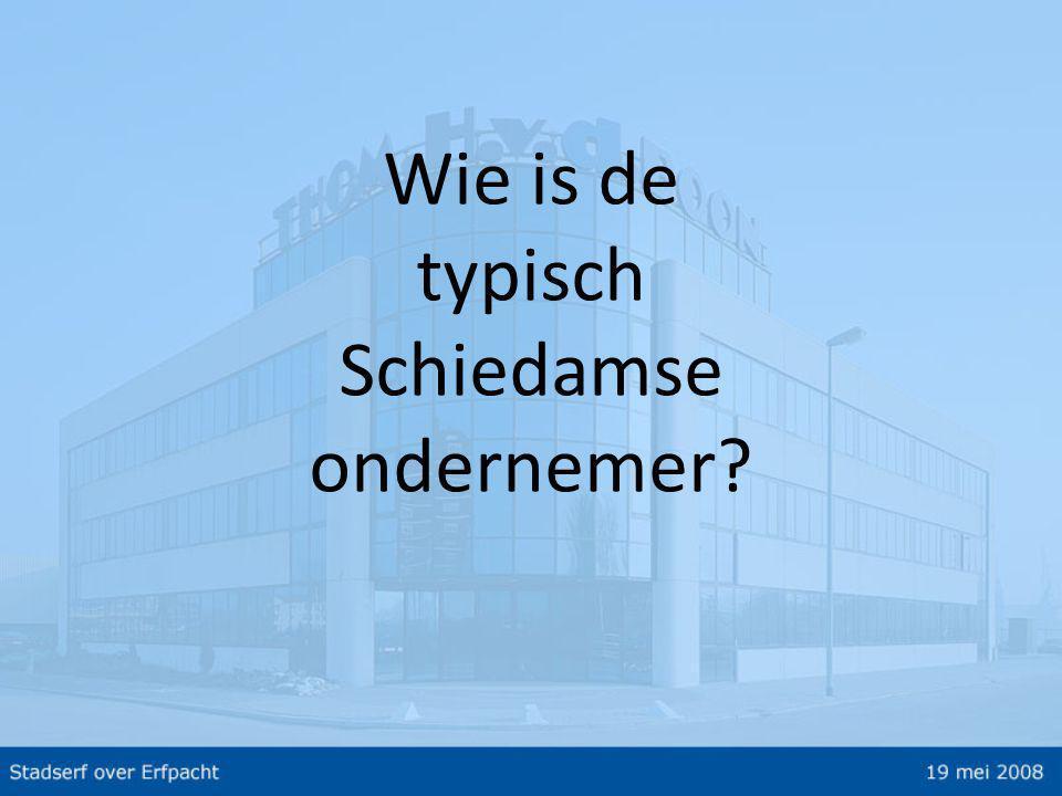 Wie is de typisch Schiedamse ondernemer