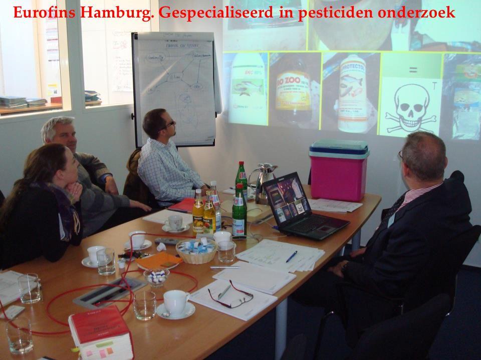 Eurofins Hamburg. Gespecialiseerd in pesticiden onderzoek