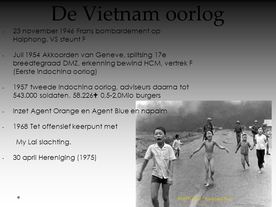 De Vietnam oorlog • 23 november 1946 Frans bombardement op Haiphong.