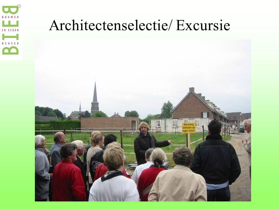 Architectenselectie/ Excursie