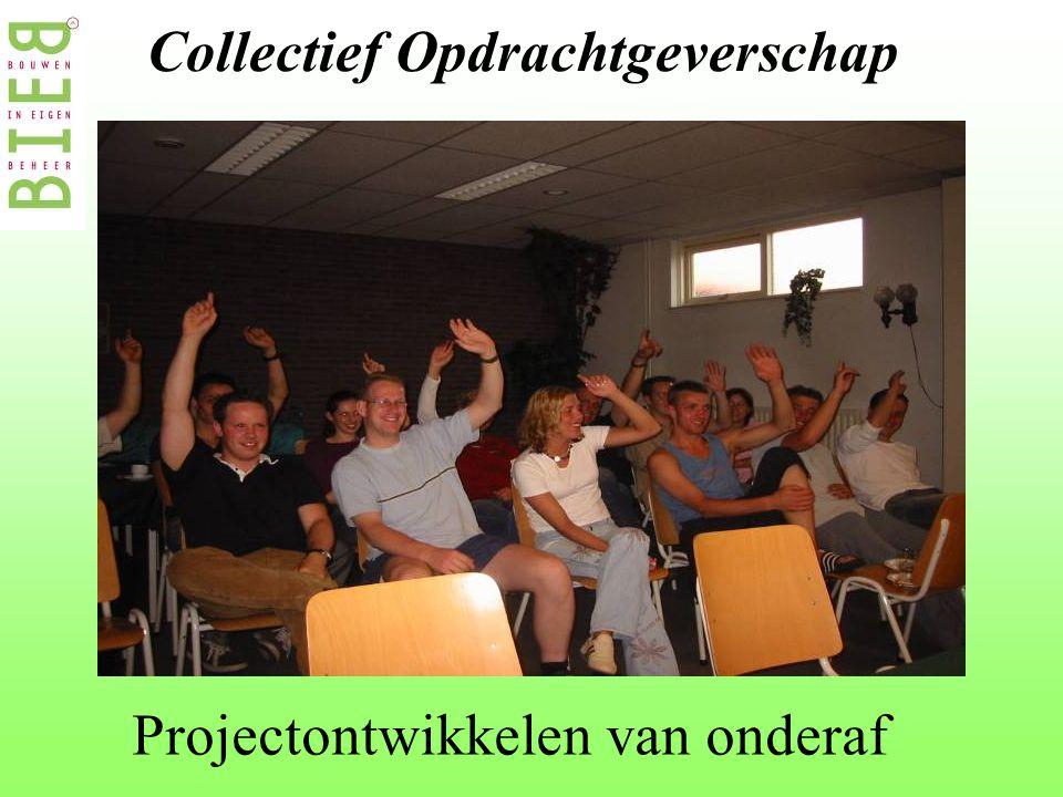 Collectief Opdrachtgeverschap Projectontwikkelen van onderaf