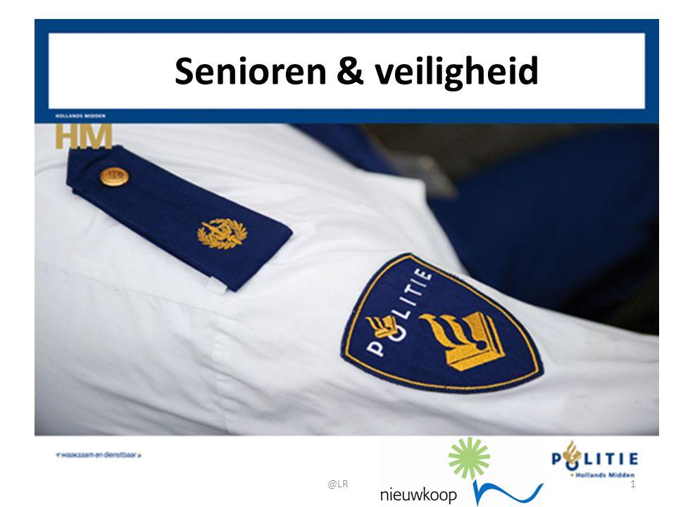 De mens lijdt het meest door de dingen die hij vreest De cijfers laten zien dat Nederland steeds veiliger wordt, ook voor senioren.