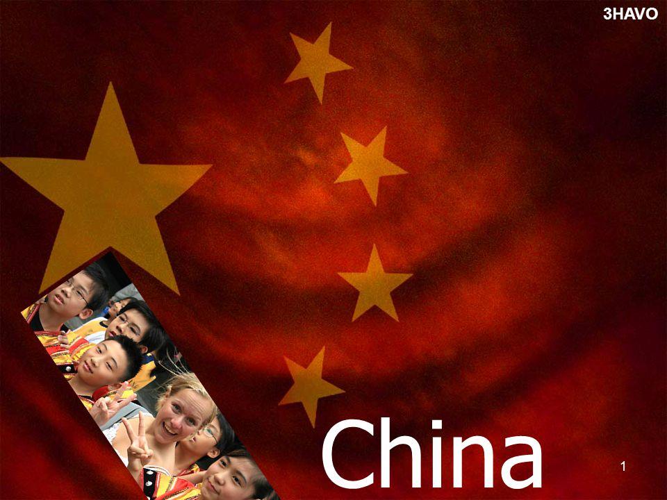 1 China 3HAVO