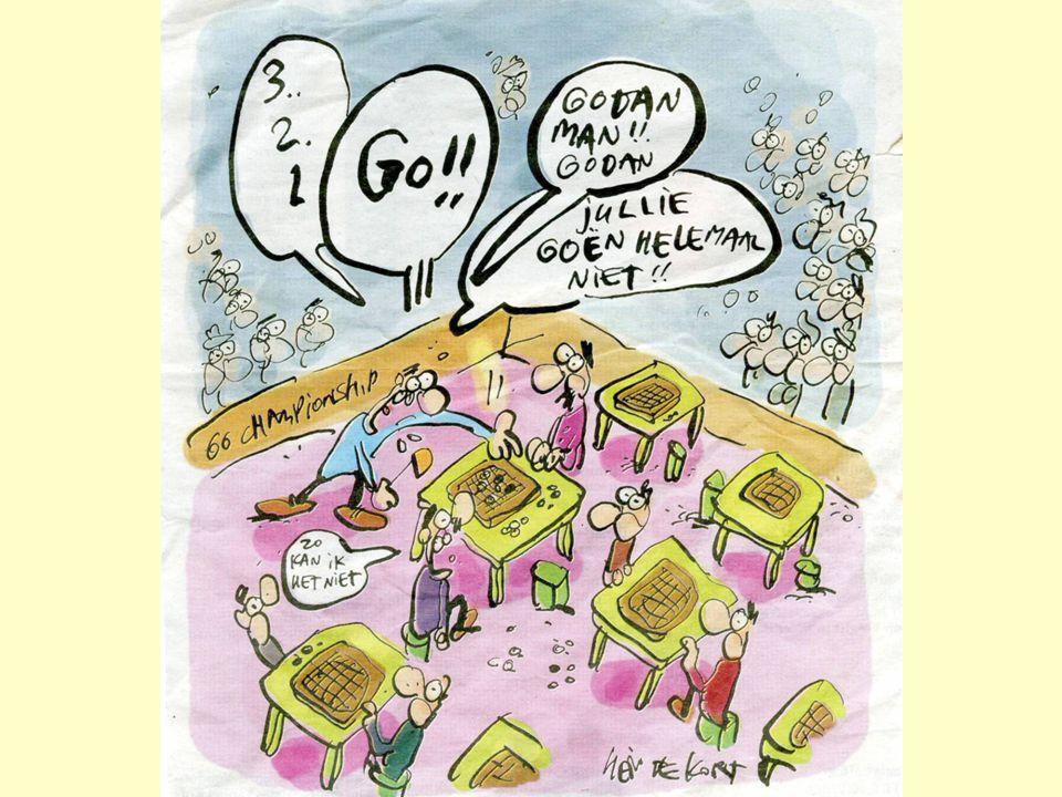 Onze missie voor de komende jaren Grafiek ledenaantal # leden Tijd 200520062007200820092010 • 1500 in 2008 (na EK Jeugd) • 3000+ in 2012 (ruim na EK) 2k2k 3k 1k EK Jeugd & Nationale Sportweek EK ; Gocongres in Groningen De missie bevat een groeidoelstelling die is ingebed in een lange termijn planning, met het oog op de grotere evenementen die de komende jaren in Nederland worden georganiseerd.