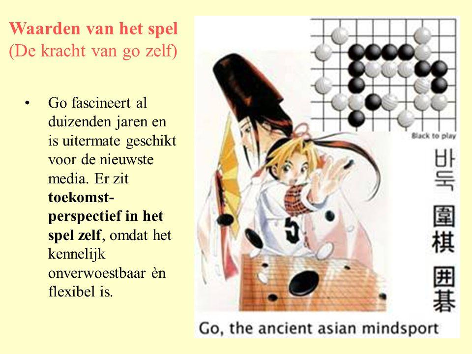 •Go fascineert al duizenden jaren en is uitermate geschikt voor de nieuwste media.