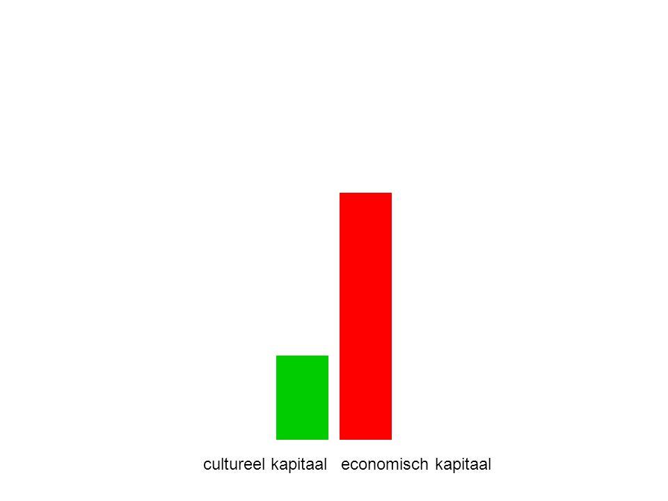 cultureel kapitaaleconomisch kapitaal