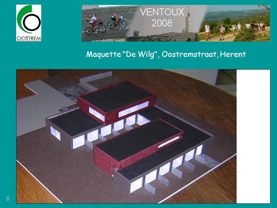 """6 Maquette """"De Wilg"""", Oostremstraat, Herent"""