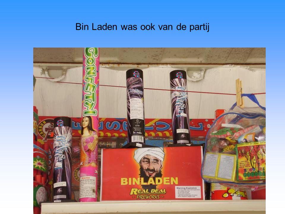 Bin Laden was ook van de partij