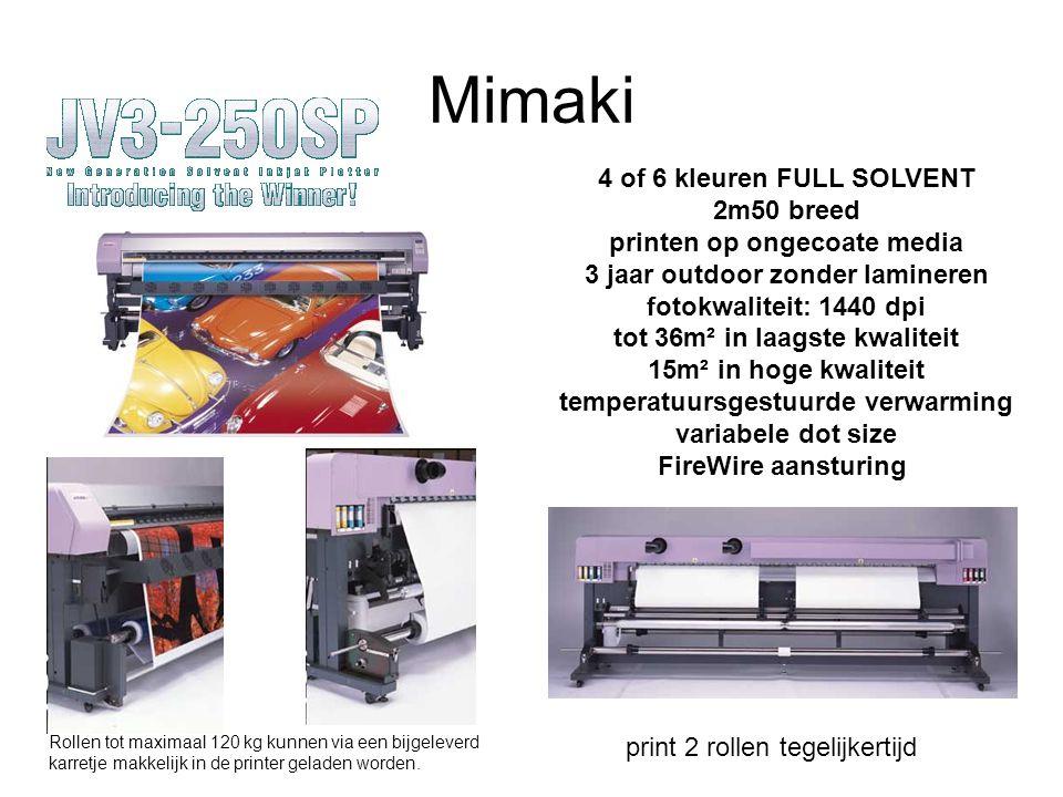 Mimaki GP-1810 De Mimaki GP-1810 is een printer specifiek ontwikkeld voor het direct bedrukken van geconfectioneerd textiel, zoals T-shirts, etc....